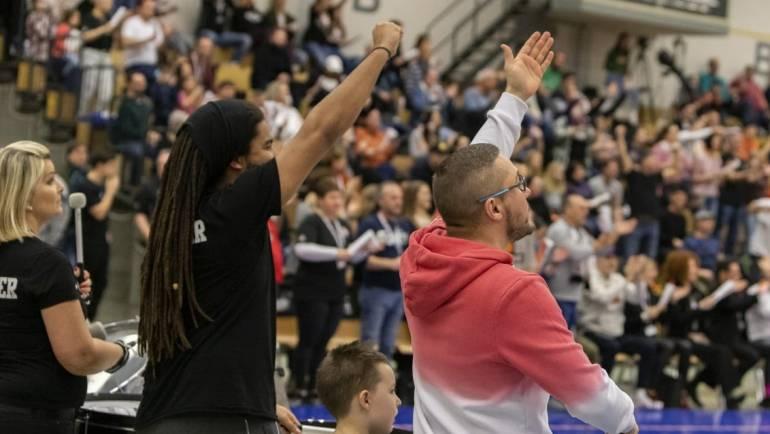 Derbysieger: White Wings gewinnen zu Hause gegen Frankfurt