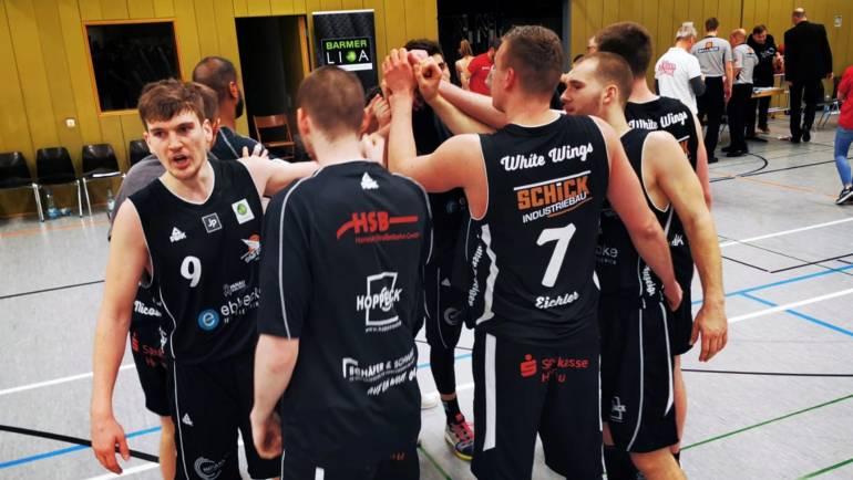 Starke Vorstellung: White Wings gewinnen in Würzburg