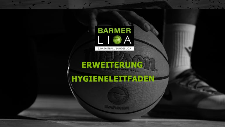 BARMER 2. Basketball Bundesliga erweitert Hygieneleitfaden