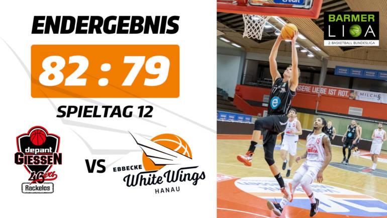 Keine Punkte im Rematch: White Wings verlieren knapp in Gießen