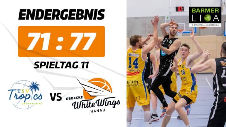 Overtime-Endspurt sichert den Sieg: White Wings gewinnen in Oberhaching