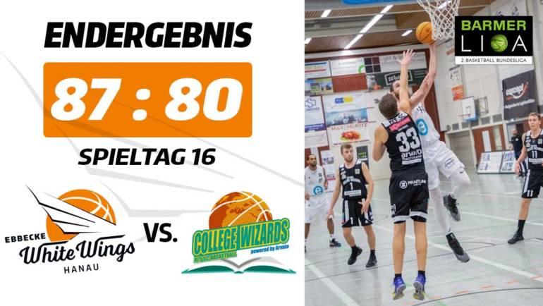 Serie reißt nicht ab: White Wings holen gegen Karlsruhe den fünften Sieg in Folge