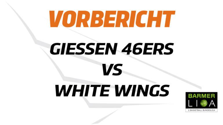 Das neue Jahr beginnt mit einem Hessenderby: White Wings Hanau spielen auswärts gegen Gießen