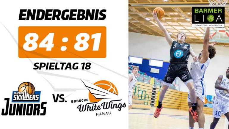 Ärgerliche Niederlage: White Wings unterliegen in Frankfurt
