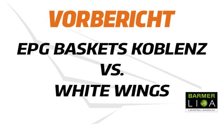 Schwere Aufgabe: White Wings treffen auswärts auf Koblenz