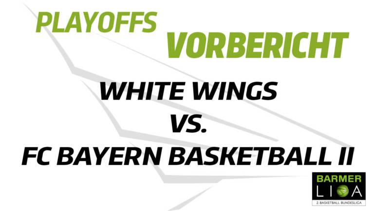 Zum dritten Mal in dieser Saison treffen die EBBECKE WHITE WINGS Hanau auf den FC Bayern Basketball II