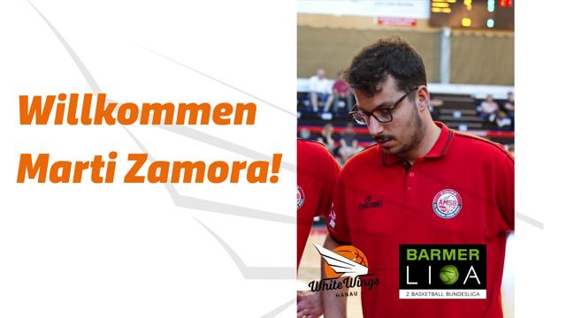 Marti Zamora wird neuer Assistent für Coach Kamil