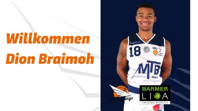 Zurück im Profibereich: Dion Braimoh unterschreibt in Hanau