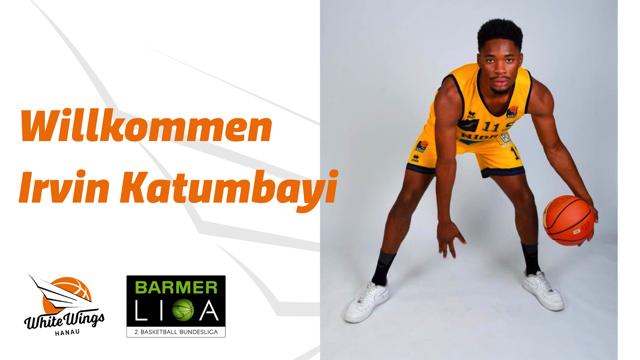 Mehr Power unter dem Korb: Irvin Katumbayi wechselt an seinem Geburtstag zu den White Wings Hanau
